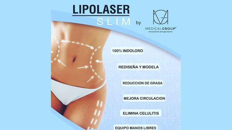 Aparatología estética Lipoláser SLIM: rediseña y remodela tu figura